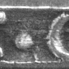 James Geddy of Williamsburg used this initial mark on spoons that were excavated by Colonial Williamsburg. Another chipped top mark was used in Petersburg.